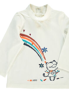Baby girls' polo neck DIBLESOUP / 18WG0991SPLA001