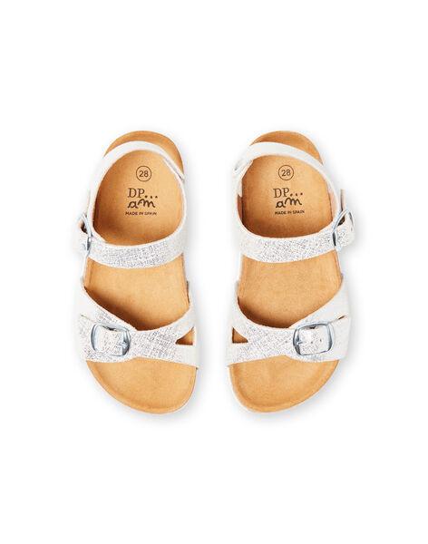 Sandali argentati bambina LFNUARGENT / 21KK355QD0E956