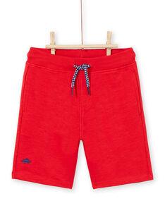 Bermuda rossi bambino LOJOBER2 / 21S902F1BER050