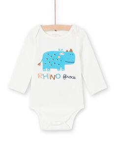Body corredo bambino a maniche lunghe motivo rinoceronte LEGABODRINO / 21SH142CBDL001