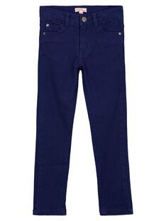 Pantaloni Slim Stretch Navy GOJOPATWI3 / 19W90241D2B070