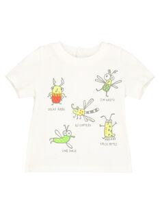 T-shirt con stampa neonato FUYETI2 / 19SG10M2TMC001