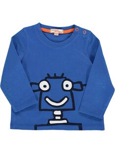 Baby boys' fancy long-sleeved T-shirt DUJOTEE3 / 18WG1039TMLC209