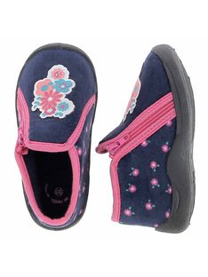 Baby girls' boot slippers DBFBOTFLO / 18WK37W3D0A070