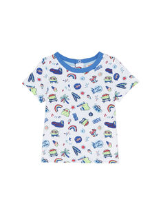 T-Shirt Maniche Corte Bianca JUQUATI3 / 20SG10R3TMC000