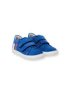 Sneakers blu bambino LGBASBLEU / 21KK3632D3F701