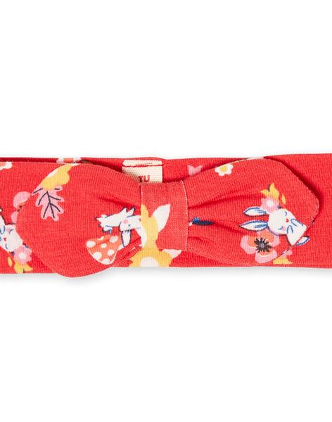 Fascia rossa con stampa neonata LYIHABAND / 21SI09X1BAN505