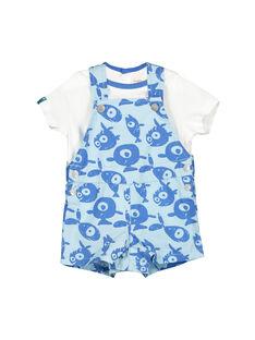 Completo salopette e t-shirt neonato FUNEENS / 19SG10B1ENS020