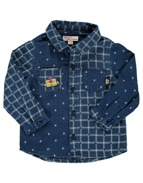 Baby boys' fancy shirt DUBLECHEM / 18WG1091CHM099