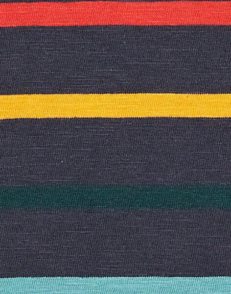 Navy T-SHIRT KOBRITEE3 / 20W902F3TMLC204