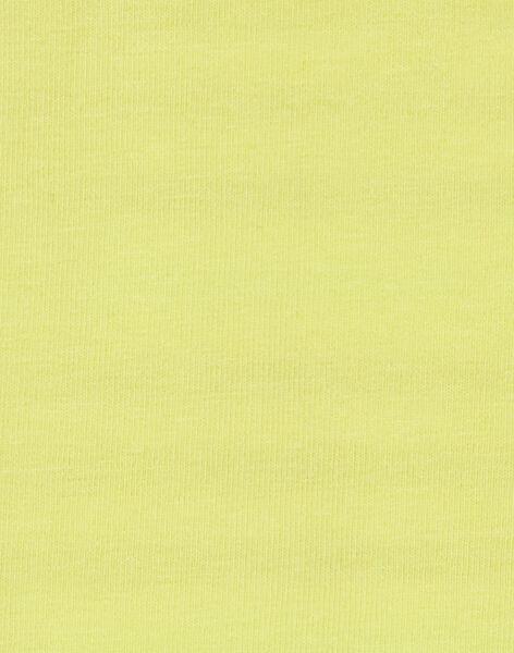 Lemon yellow BODY SUIT KUBOBOD / 20WG10N1BOD108