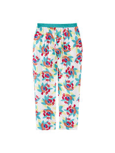 Pantaloni taglio morbido con stampa ed elastico in vita JAMARPANT / 20S901P1PAN000