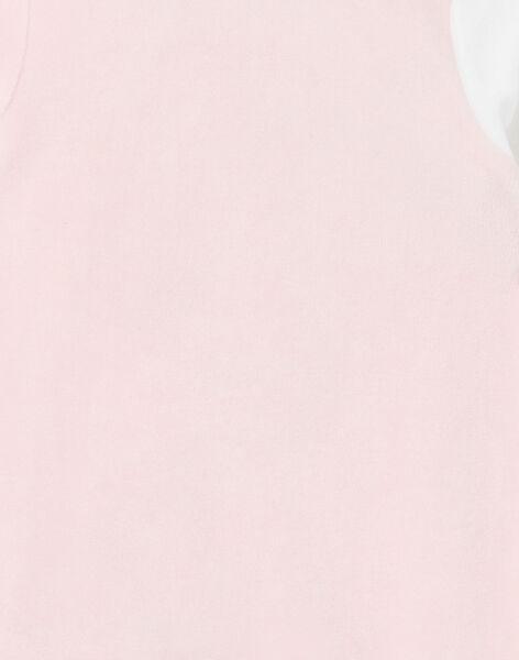 Tutina corredo bambina in velluto motivi zebre LEFIGREZEB / 21SH1311GRE321