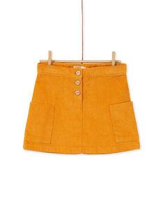 Yellow SKIRT KAGOJUP1 / 20W901L1JUP107