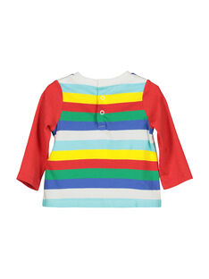 T-shirt maniche lunghe neonato FUCOTEE1 / 19SG1081TML099