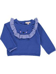 Baby girls' sweater CIKLEPUL / 18SG09D1PULC207