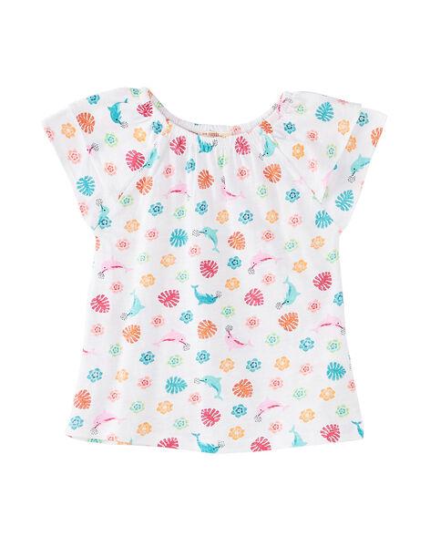 T-Shirt Maniche Corte Bianca JAQUATI2 / 20S901R2TMC000