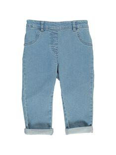 Baby girls' jeans CIJOPAN1 / 18SG09R1JEA721