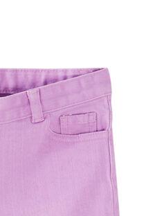 Shorts in denim rosa JAJOSHORT5 / 20S901T2D30322