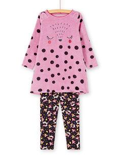 Purple NIGHT DRESS KEFACHUWOO / 20WH11C1CHNH706