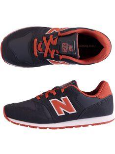 Sneakers blu bambino NEW BALANCE GGYV373FA / 19WK36P2D37C218