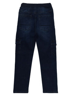 Jeans bambino elasticizzati cargo denim scuro JOESJEMAT2 / 20S90264D29P271