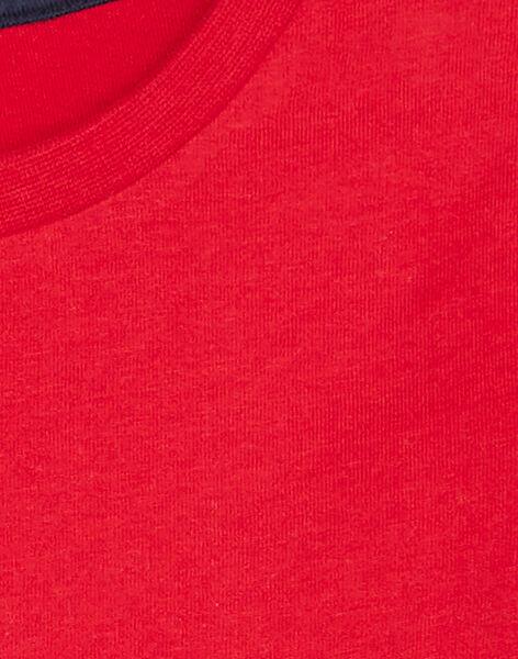 Red LONGSLEEVE T-SHIRT KOJOTIDEC1 / 20W9023BD32F518