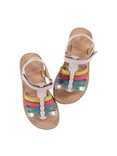 Sandali da città cinturini in pelle bambina FFSANDMIN4 / 19SK35D2D0E030
