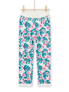 Pantaloni sportivi, stampa fiori hawaiani LAJOBAJOG2 / 21S90142D2A001