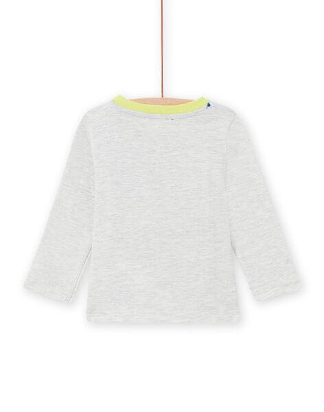 T-shirt maniche lunghe stampa tigri neonato MUKATEE1 / 21WG10I2TML006