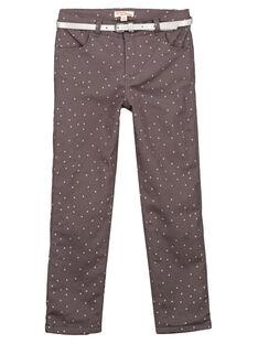 Pantaloni in raso con fodera in pile GABLAPANT2 / 19W901S1PANJ912