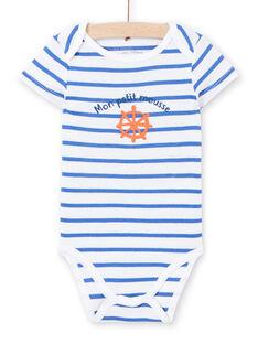 Body bianco con stampa neonato LEGABODMOU / 21SH14G1BDL000