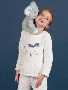 Set pigiama in soft boa motivo koala bambina MEFAPYJKOA / 21WH1199PYJ001