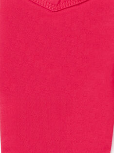 Jeggings rosa scuro tinto in capo LAJOJEG2 / 21S90144D2BF507
