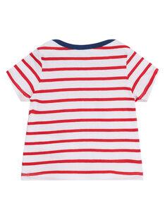 T-Shirt Maniche Corte Rossa JUJOTI3 / 20SG10T1TMCF524