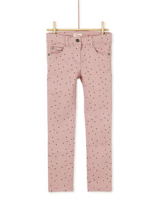 Old rose PANTS KAJOPANT3 / 20W90131D2B303