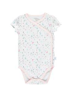 Girls' short-sleeved bodysuit CCFBODAOP2 / 18SF03C2BOD301