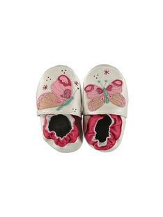 Babbucce neonata in pelle FNFPAP / 19SK3736D3S301