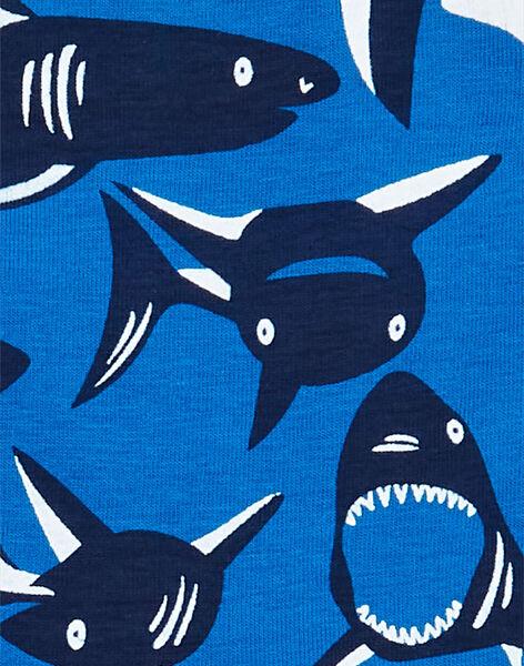 Set 5 boxer verde, blu e rosso stampa squali bambino LEGOBOXSEM1 / 21SH1222BOX070