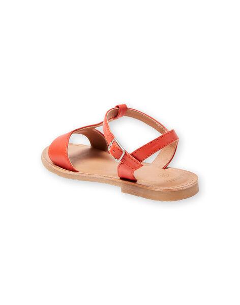 Sandali arancioni bambina LFSANDMADDIE / 21KK3551D0E400