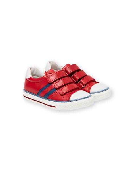 Sneakers rosse e blu bambino JGBASLIAGR / 20SK36Y2D3F050