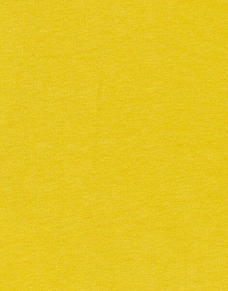 Yellow T-SHIRT KURETEE2 / 20WG10G3TMLB107