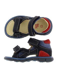 Baby boys' leather sandals CBGSANDMA / 18SK38W7D0E070