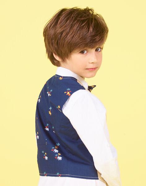 Gilet da completo beige - Bambino LOJAUGIL / 21S902O1GSMA014