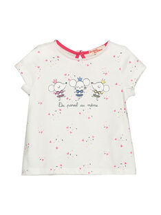 T-shirt maniche corte neonata FICOTI / 19SG0981TMC000