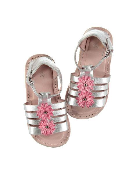 Sandali da città pelle neonata FBFSANDCHIC / 19SK37C1D0E956