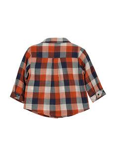 Camicia a quadri neonato FUBACHEM / 19SG1061CHM099
