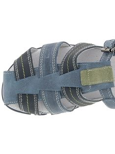 Boys' leather sandals CGSANDGECO / 18SK36W1D0EC218