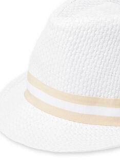 Cappello bianco neonato LYUBALCHA / 21SI10O1CHA000
