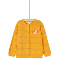Yellow CARDIGAN KAGOCAR1 / 20W901L1CAR107